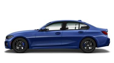 BMW 3 Series 2019 press side profile