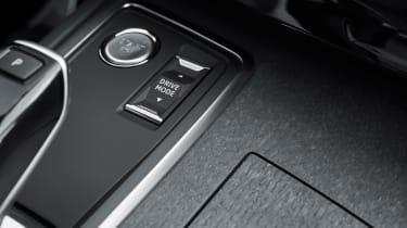 Peugeot 508 plug-in hybrid interior details