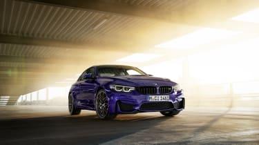 BMW M4 M Heritage Edition in Velvet Blue