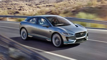 The Jaguar I-Pace previews a new SUV