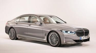 BMW 7 Series Facelift front quarter