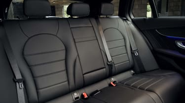 Mercedes C-Class Estate rear seats