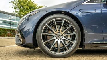 Mercedes EQS hatchback alloy wheels