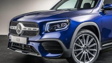 2019 Mercedes GLB - 3/4 close up