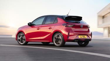 2019 Vauxhall Corsa - rear 3/4 view dynamic