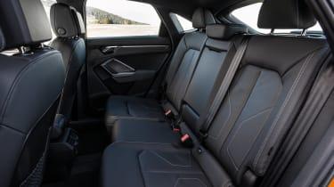 Audi Q3 Sportback SUV rear seats