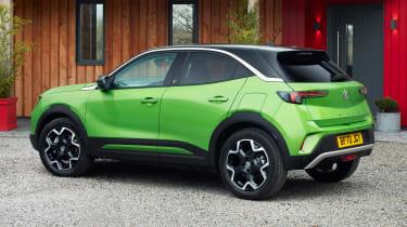 Vauxhall Mokka-e rear