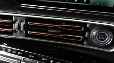 Mercedes EQC SUV air vents
