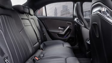 Mercedes-AMG A 35 Saloon rear seats