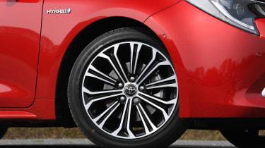 Toyota Corolla Touring Sports estate alloy wheels