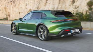 Porsche Taycan Cross Turismo - rear 3/4