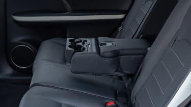 Lexus RX SUV rear armrest