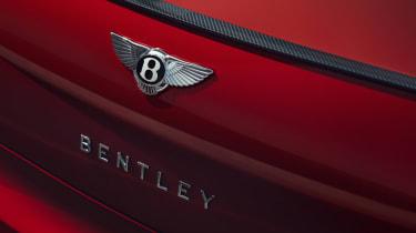 Bentley Continental Flying Spur saloon rear spoiler