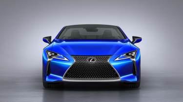 Lexus LC500 Convertible front end