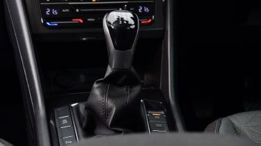 Volkswagen Tiguan SUV gear lever