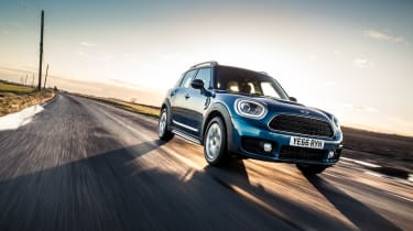 The extra agility of the latest Countryman is an important part of its character