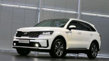 2020 Kia Sorento SUV - front 3/4 view