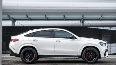 2020 Mercedes-AMG GLE 63 S Coupe side static