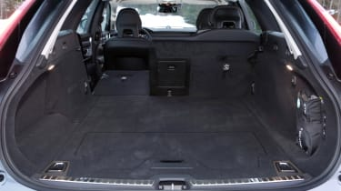 You can fold down one, two or all three of the rear seats to accommodate those long or bulky items