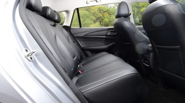 MG 5 EV estate rear seats