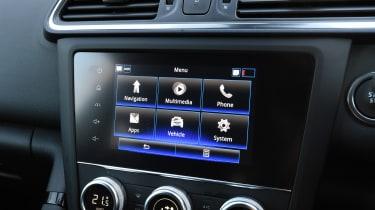 Renault Kadjar infotainment screen