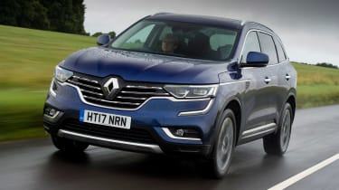 The Koleos shares some parts with the Nissan X-Trail, but has been thoroughly reworked to offer customers something different