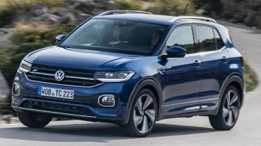 Volkswagen T-Cross 2019 tracking corner