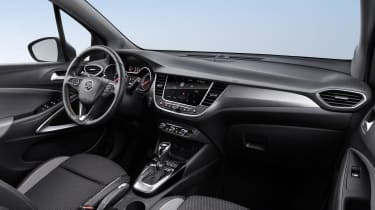 The interior is similar to the Astra - no bad thing