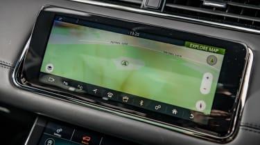 Range Rover Evoque SUV infotainment