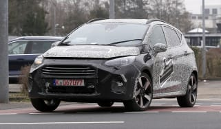 2021 Ford Fiesta prototype - front