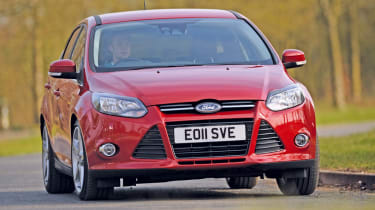 Ford Focus 2011 front cornering