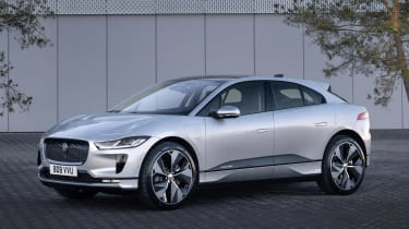 2020 Jaguar I-Pace - front 3/4 static view