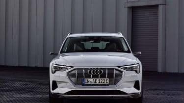 Audi e-tron 50 quattro static - front view