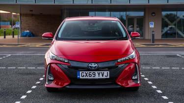 Toyota Prius Plug-in Hybrid hatchback front static