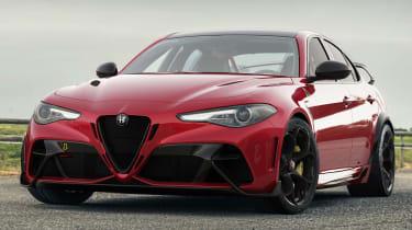 Alfa Romeo Giulia GTAm front