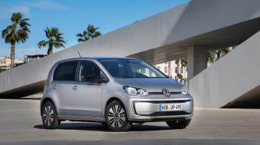 2019 Volkswagen e-up! hatchback - static front 3/4