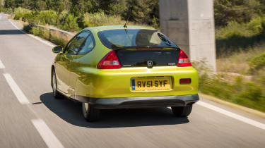 Honda Insight - rear 3/4 view