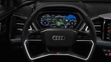 2021 Audi Q4 e-tron SUV dashboard