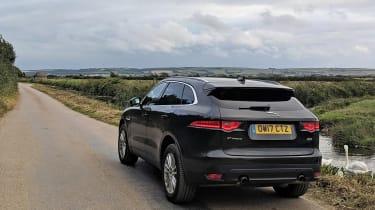 Rear view of Jaguar F-Pace Portfolio