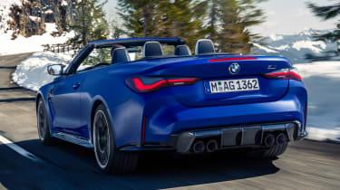 2021 BMW M4 Competition Convertible M xDrive - rear 3/4
