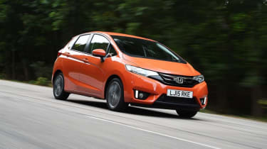 The Honda Jazz offers a simply remarkable amount of interior space