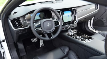 Polestar 1 coupe interior