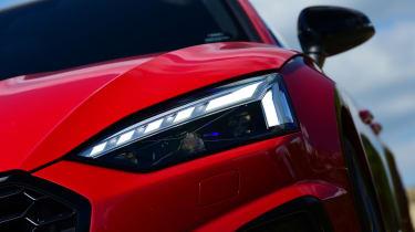 Audi S5 Sportback headlights