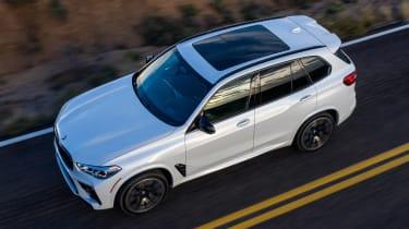 BMW X5 M SUV roof