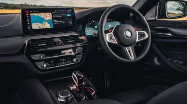 2021 BMW M5 Competition saloon - interior