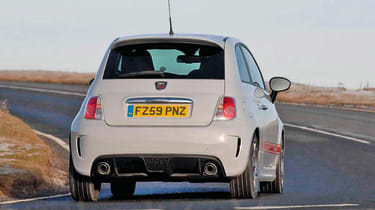 Abarth 500 - rear