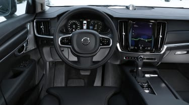 A big selling point of the V90 Cross Country is its interior