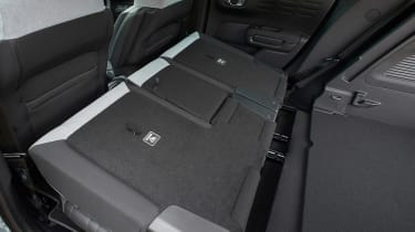 Citroen C3 Aircross SUV rear seats folded