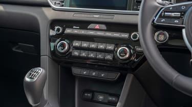 Kia Sportage SUV centre console