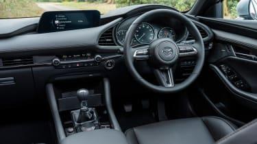 Mazda3 hatchback steering wheel
